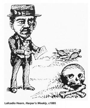 Lafcadio Hearn Harper s Weekly c1885