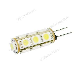 Energy Saving G4 DC 12V 13 5050 SMD LED Light Bulb Warm White or Cool ...
