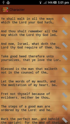 View bigger - Holy Bible Quotes (Adfree Key) for Android screenshot