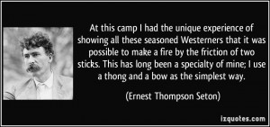 Ernest Thompson Seton Quotes