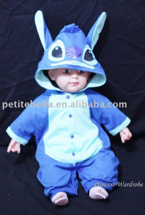 Stitch baby costume Unisex baby costume,party costume,costume MAC71