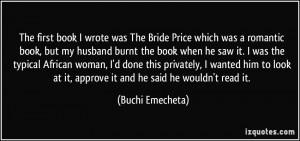 More Buchi Emecheta Quotes