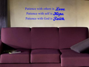 BEAUTIFUL QUOTE love hope faith GOD decal sticker