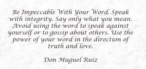 Quotes watch your Words!