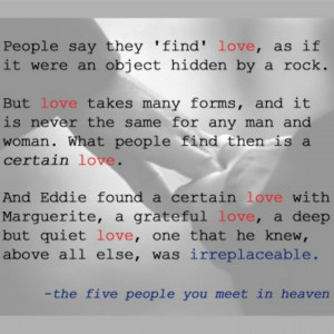 People In Heaven Quotes People you meet in heaven