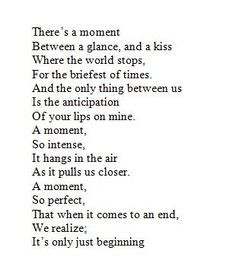 ... our lips. It's already so good just with our first kiss... Imagine the