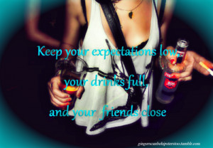 Drinking Quotes Girls Wallpapers