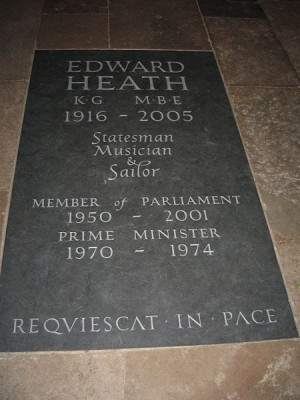 heath dead 17 july ted heath former pm of the
