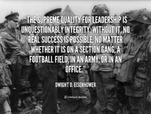 Eisenhower Leadership Quotes