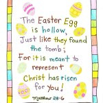 Tag Archives: Short Christian Easter Poems For Preschoolers