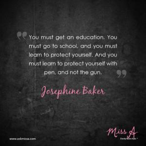 Josephine Baker quote