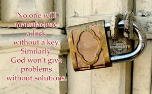 Lock And Key Quotes No one will manufacture a lock