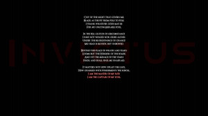 Invictus Black quotes poems statement text words wallpaper background