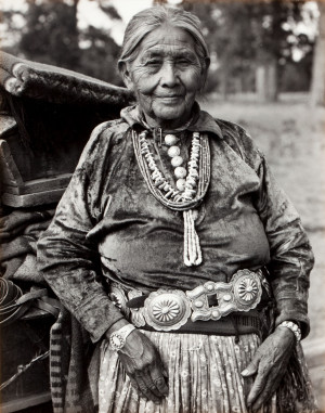 Navajo Matriarch, by Laura Gilpin, 1952