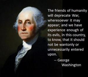 Washington on War