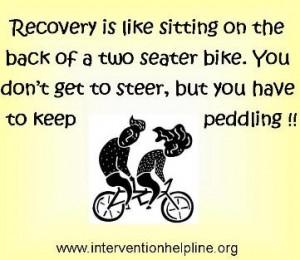 bicycle built for two....recovery sayings and quotes ...