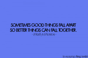 love #quotes #marilyn monroe #break up #new love