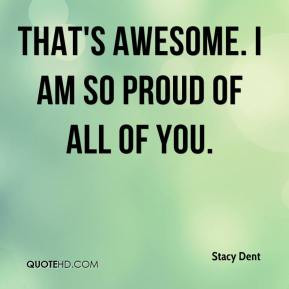 AM so Proud of You Quotes