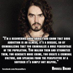 Tumblr Drug Quotes This quote from russell brand