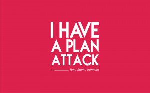 Ironman Quotes I Have A Plan Attack Large I Have A Plan Attack