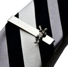 Lacrosse Tie Clip - Tie Bar - Tie Clasp - Business Gift - Handmade ...