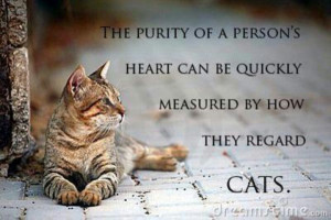 Purity of a person's heart