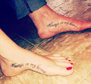 Always-in-My-Heart-Mother-Daughter-Tattoo