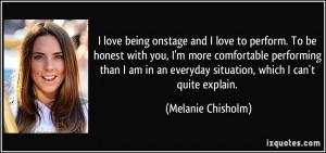 More Melanie Chisholm Quotes
