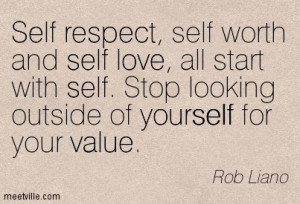 Funny Self-Esteem Quotes | … , love, self, value, yourself, respect ...