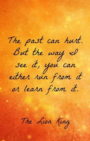 ... The Lion King quotes | Disney wisdom #disney #quotes #thelionking