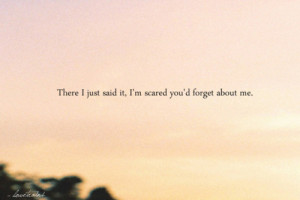Forgetting Me Quotes Tumblr