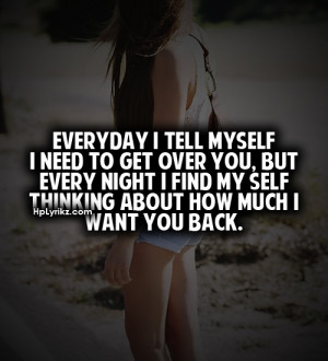 Want You Back Quotes Tumblr