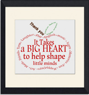 Teacher Gift- Appreciation Apple- Thank you- word art Instant Download ...