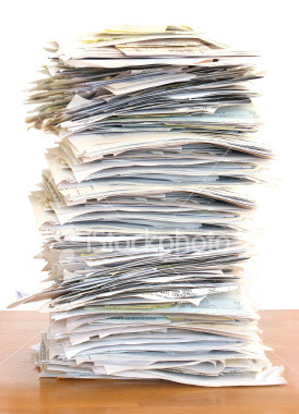 """Stack"""" vs. """"pile"""" vs. """"heap"""" of paper"""