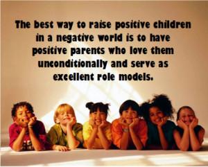 raise positive children
