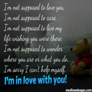 sorry but i love you quotes