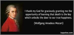 More Wolfgang Amadeus Mozart Quotes