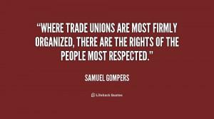 Trade Union Quotes