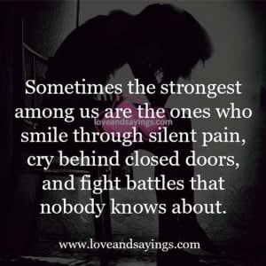 smile through the pain quotes