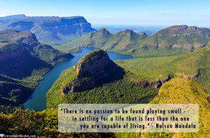 River Canyon is located in a northeastern province of South Africa ...