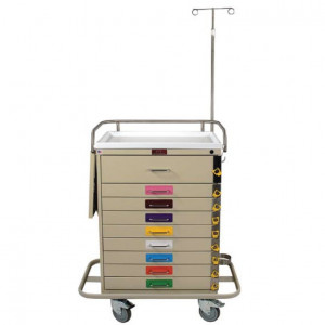 Broselow Pediatric Crash Carts