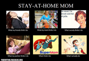 The Glory of the Stay-At-Home Mom