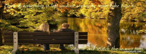 Fall Quote Facebook Cover