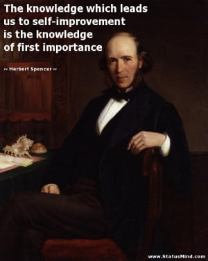 Herbert Spencer Quotes Herbert spencer quotes