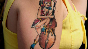 What are country-western tattoos?