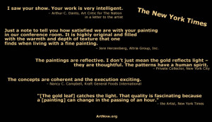 home ten paintings artist statement contact quotes index