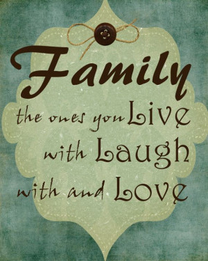 Family Live Laugh Love Quote 8x10 Digital Print by WrightontheWall, $6 ...