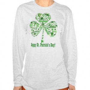 Happy St. Patrick's Day Quotes T-shirts In our offer link above you ...