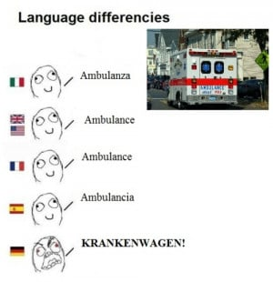 its just humor no offense friends from germany