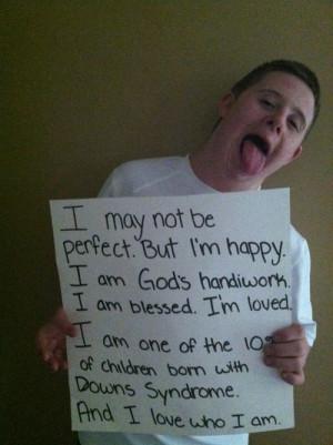 god's handiwork - Down-syndrome